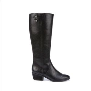 Dr Schoolls women knee tall boots black size 7.5M